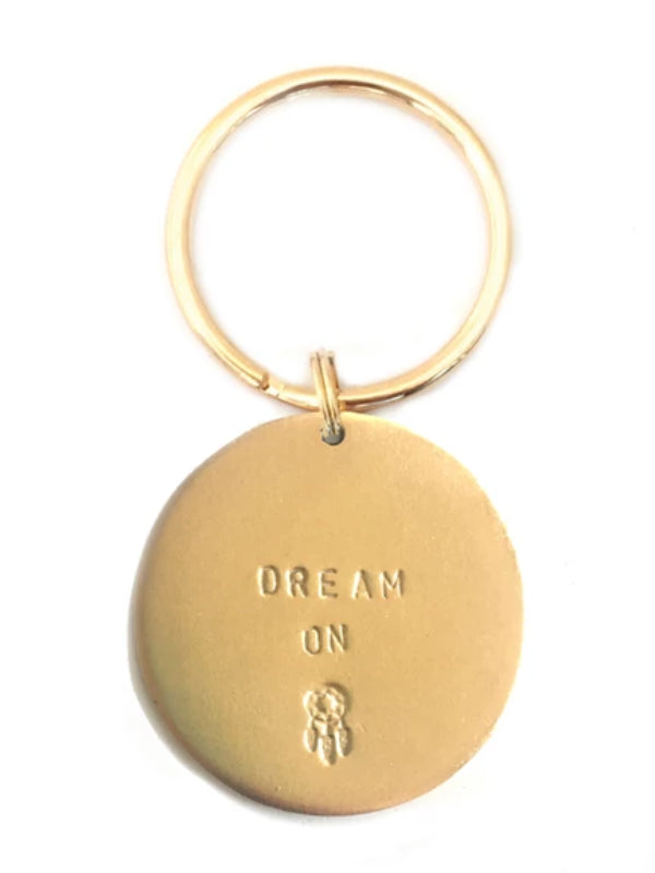 "Jumbo ""Dream On"" Key Rings"