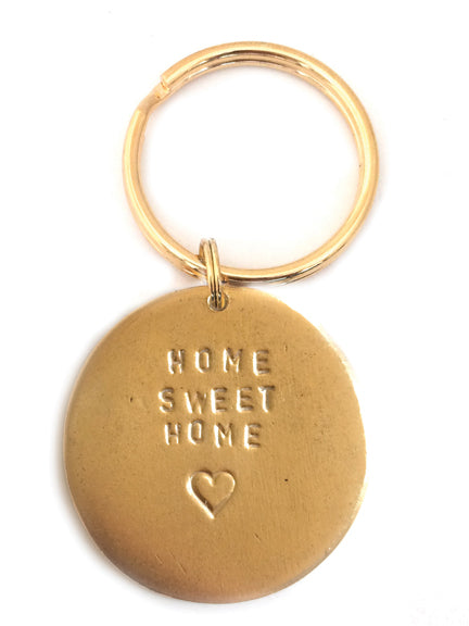 "Jumbo ""Home Sweet Home"" Key Rings"