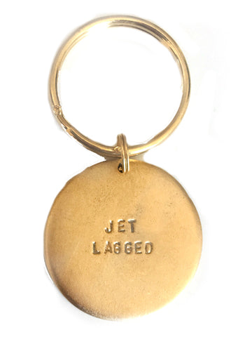 "Jumbo ""Jet Lagged"" Key Rings"