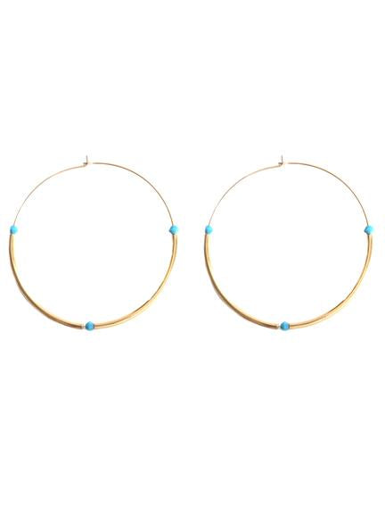 Leigh Hoop Earrings