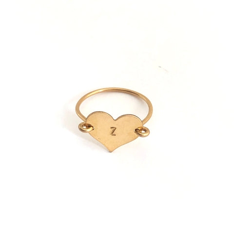 Heartthrob Ring- Letter Z- Friday Flash Sale