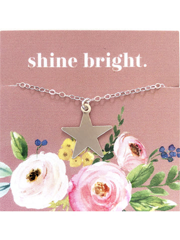 Silver Star Necklace - LLS