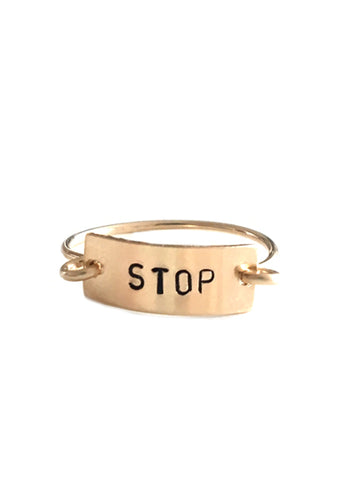 Tayt Ring- STOP - Friday Flash Sale