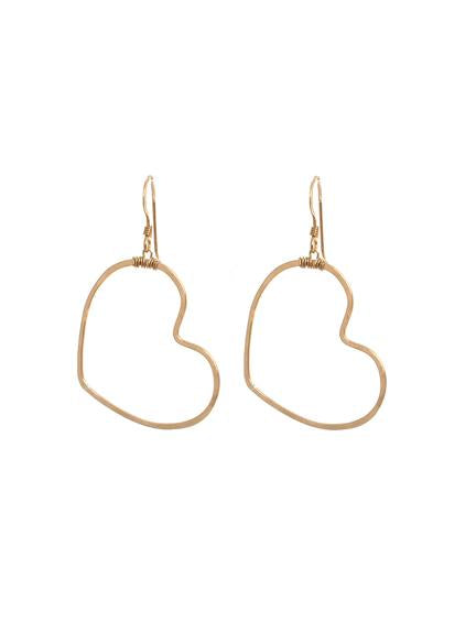 Vida Heart Earrings