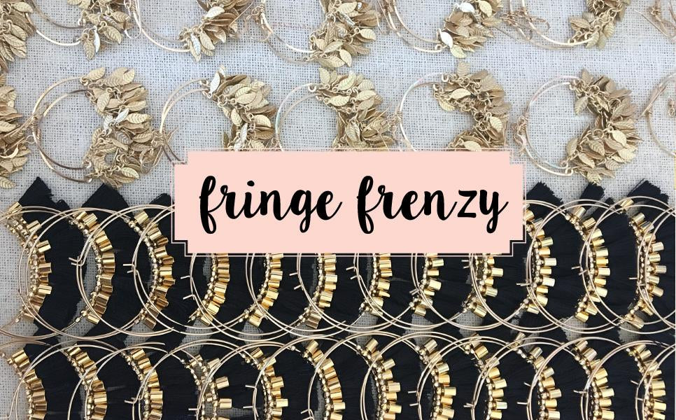 Fringe Frenzy Tassel Earrings