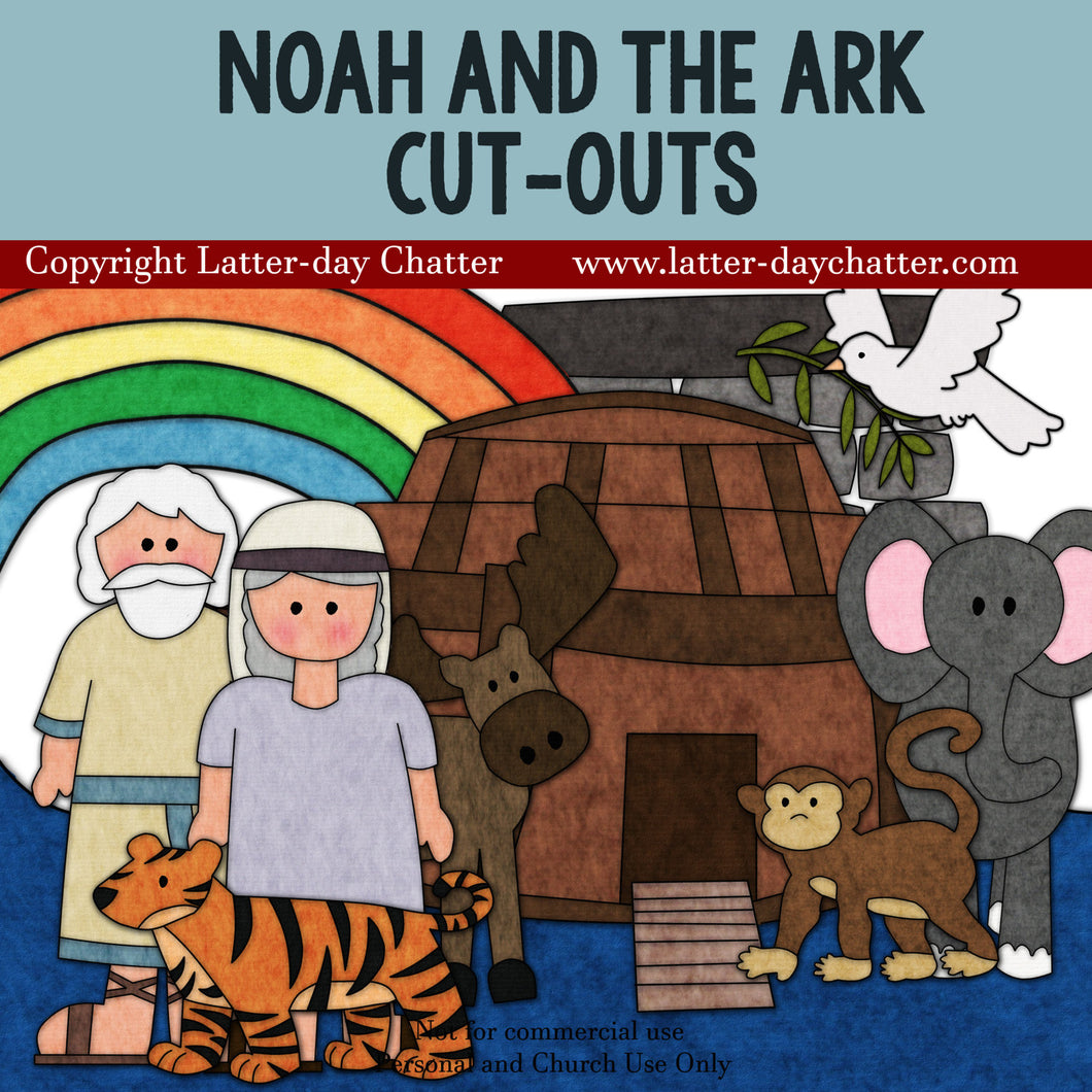 Noah and the Ark Cut-outs