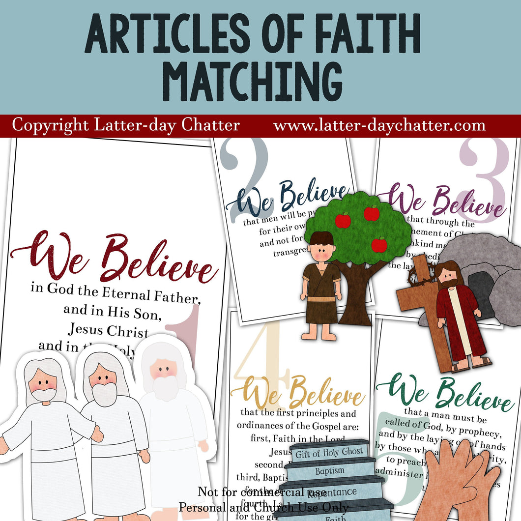 Articles of Faith Matching