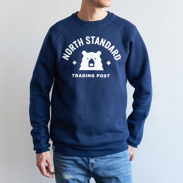 NSTP Varsity Crew Sweatshirt - Navy with White