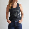 NSTP Varsity Tank - Black with Black