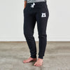 NSTP Unisex Slim Fit Sweatpants - Black with White