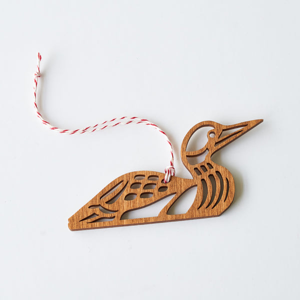 NSTP Tree Ornament - Loon
