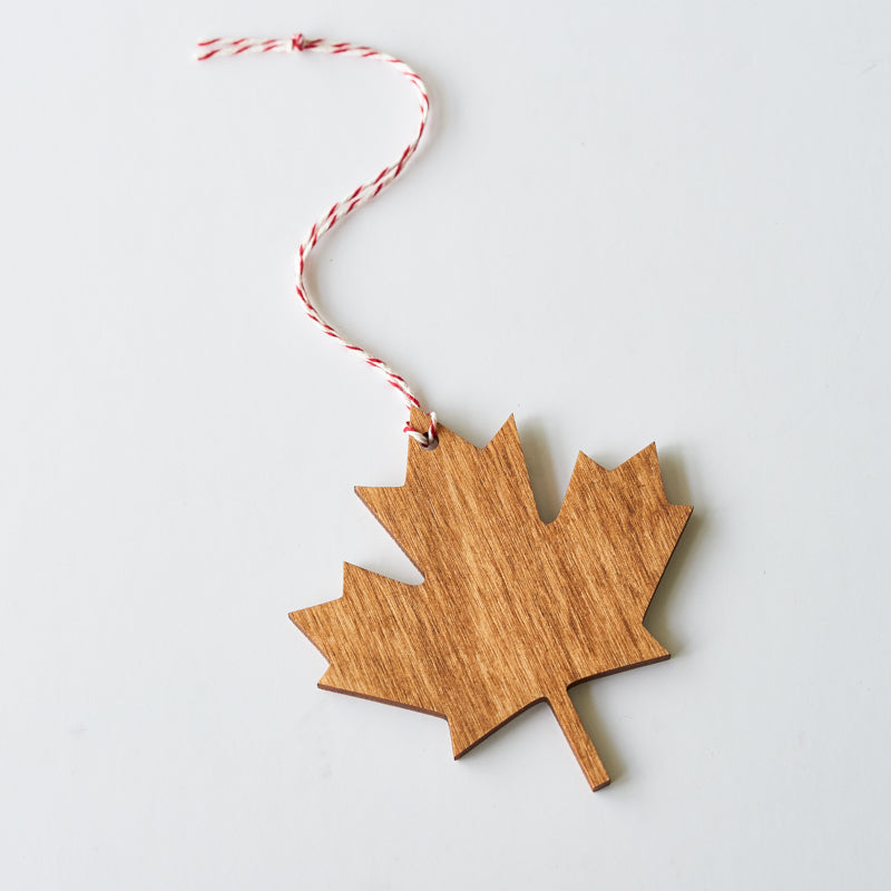NSTP Tree Ornament - Maple Leaf