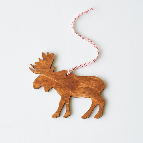 NSTP Tree Ornament - Moose