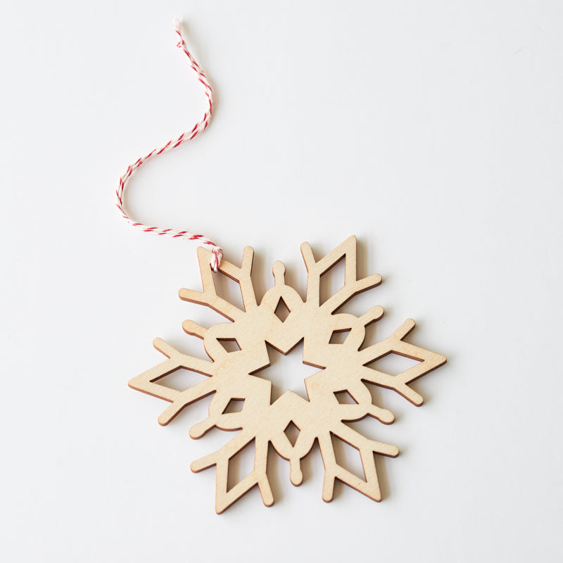 NSTP Tree Ornament - Snowflake