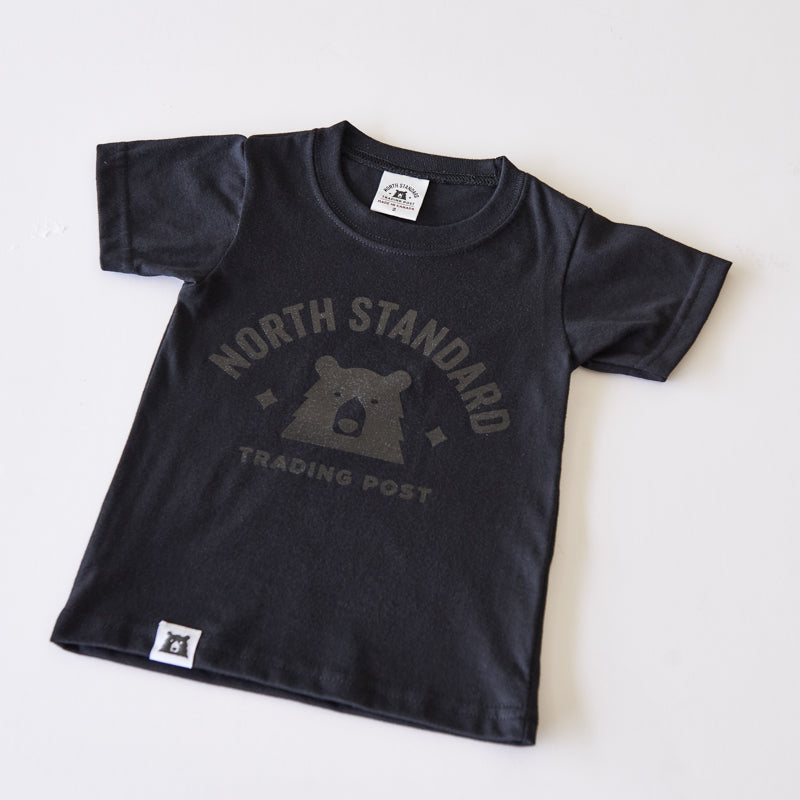 NSTP Kids Primary Tee - Black with Black