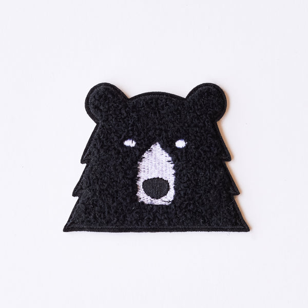 NSTP Patch - Chenille Bear - Black