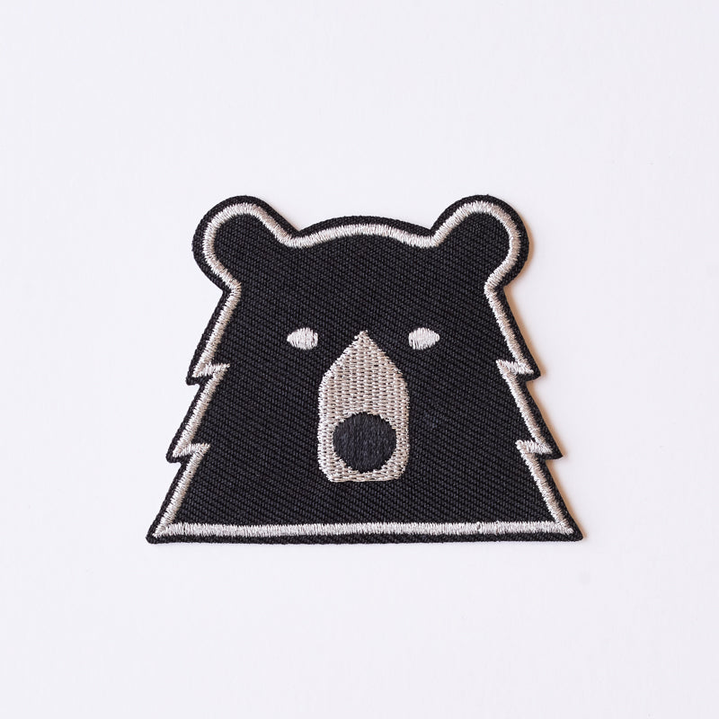 NSTP Patch - Bear - Black/Silver