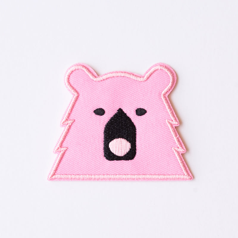 NSTP Patch - Bear - Pink