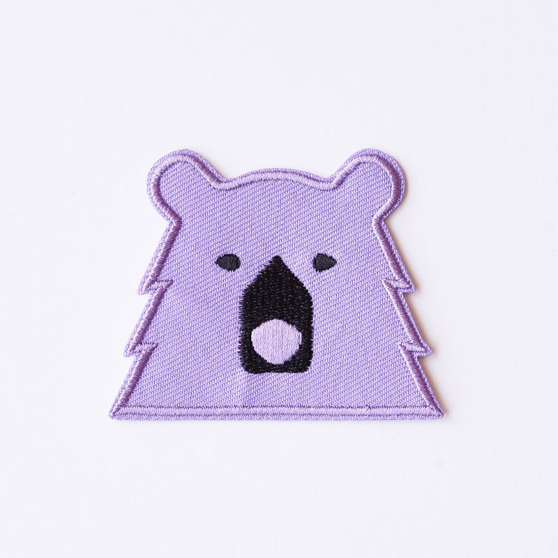 NSTP Patch - Bear - Lavender