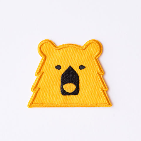 NSTP Patch - Bear - Golden Yellow
