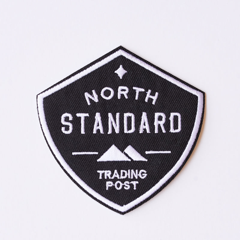 NSTP Patch - Shield - Black/White