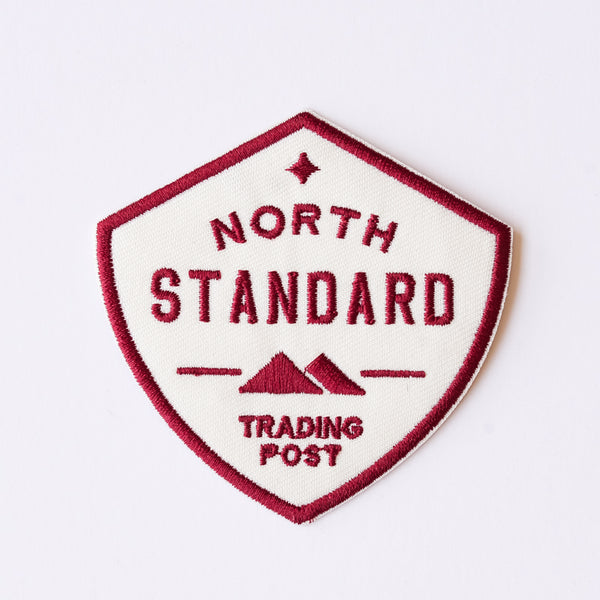NSTP Patch - Shield - White/Maroon