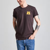 NSTP Mascot Tee - Brown with Golden Yellow