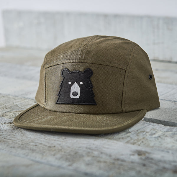 NSTP 5 Panel - Olive with Black Bear