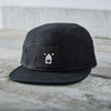 NSTP 5 Panel - Black with Black Bear