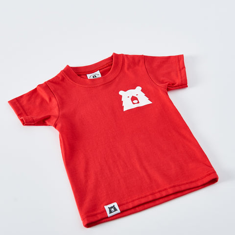 NSTP Kids Mascot Tee - Red with White