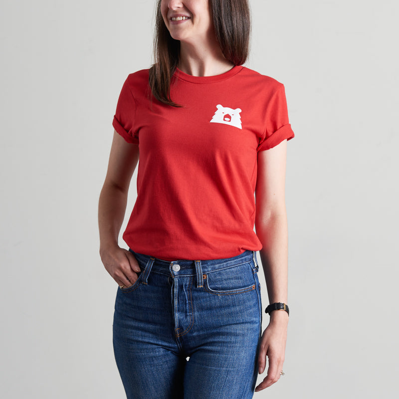 NSTP Mascot Tee - Red with White
