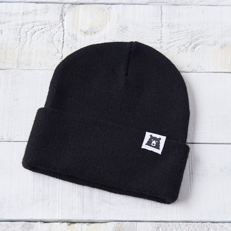 NSTP Bear Toque - Black