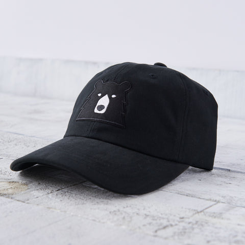 NSTP Camp Hat - Black with Black Bear