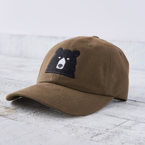 NSTP Camp Hat - Peat with Black Bear