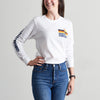NSTP Dunes Long Sleeve Tee - White