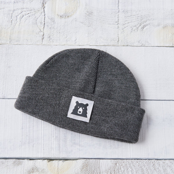 NSTP Kids Bear Toque - Charcoal