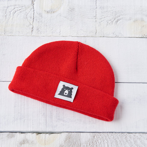 NSTP Kids Bear Toque - Red