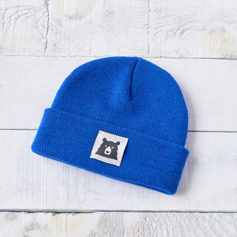 NSTP Kids Bear Toque - Royal Blue