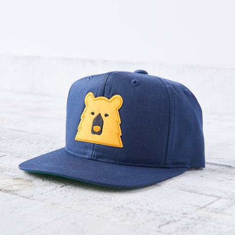 NSTP Kids Snapback - Navy with Golden Yellow Bear