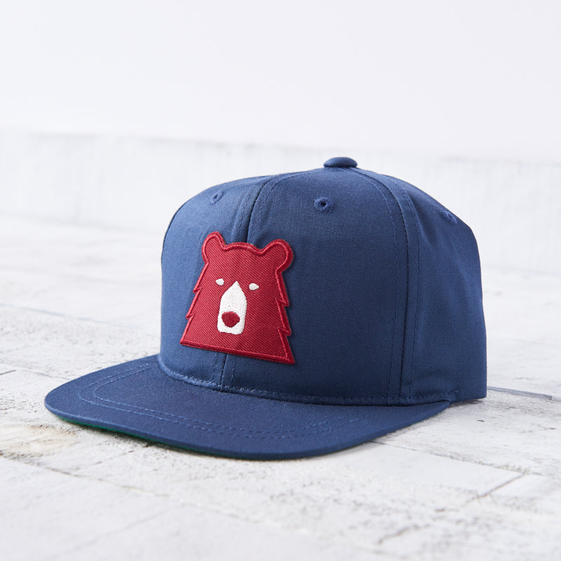 NSTP Kids Snapback - Navy with Red Bear