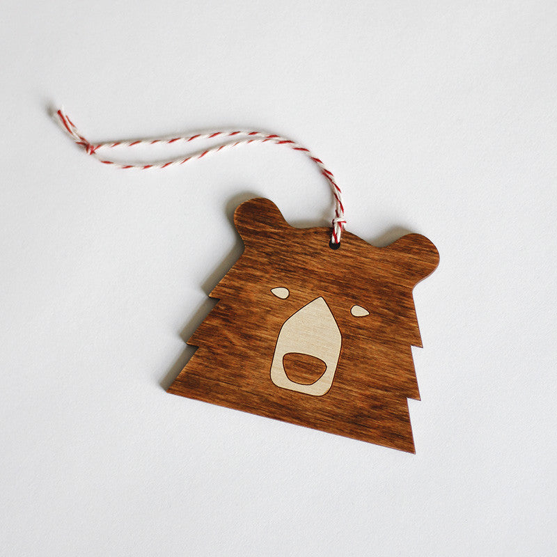 NSTP Tree Ornament - Bear