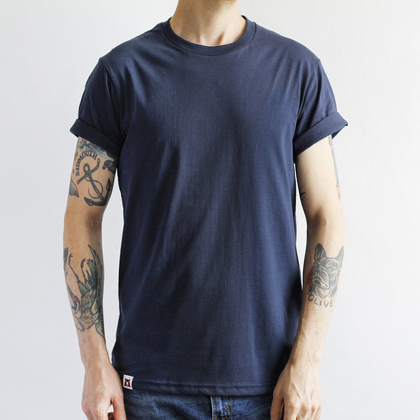 NSTP BASICS Perfect Crew Tee - Navy