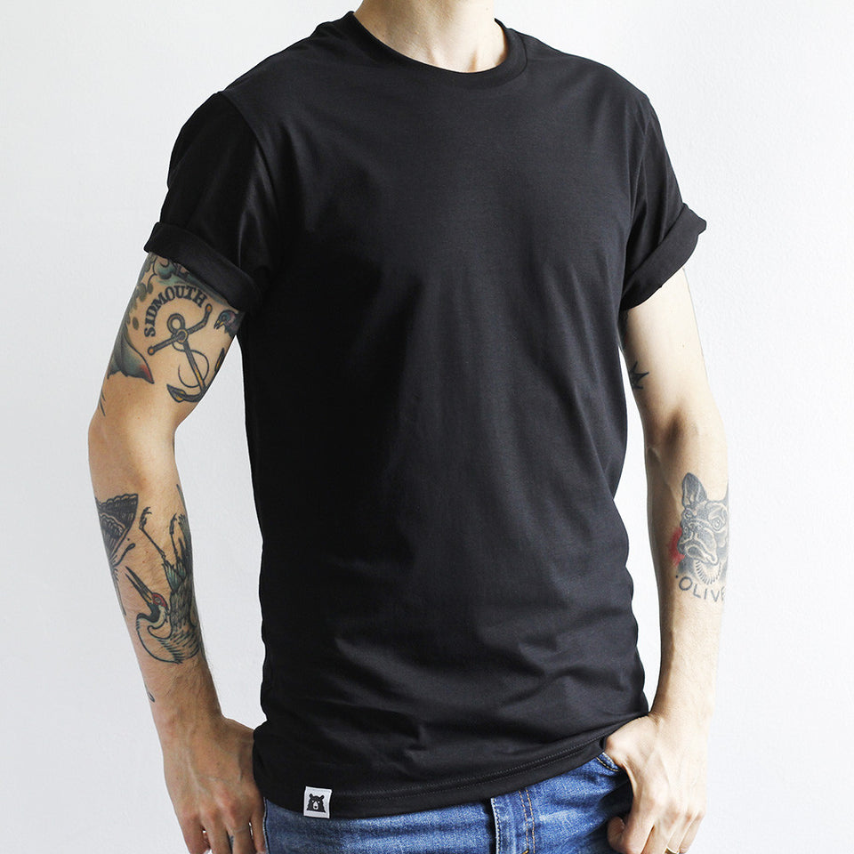 NSTP BASICS Perfect Crew Tee - Black