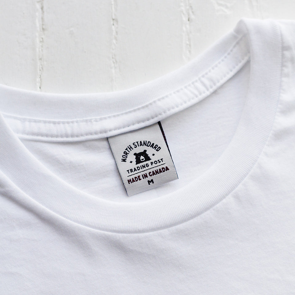 NSTP BASICS Perfect Crew Tee - White