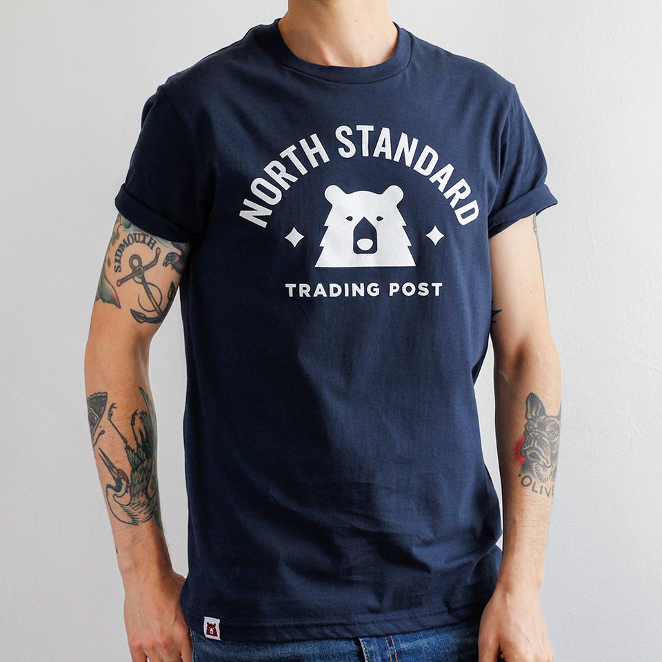 NSTP Varsity Tee - Navy with White