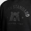 NSTP Varsity Crew Sweatshirt - Black with Black