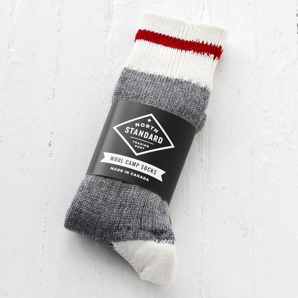 NSTP Camp Socks - Wool - Red