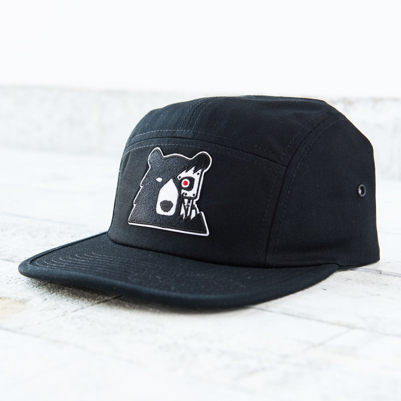 NSTP 5 Panel - Black with Cyber Bear