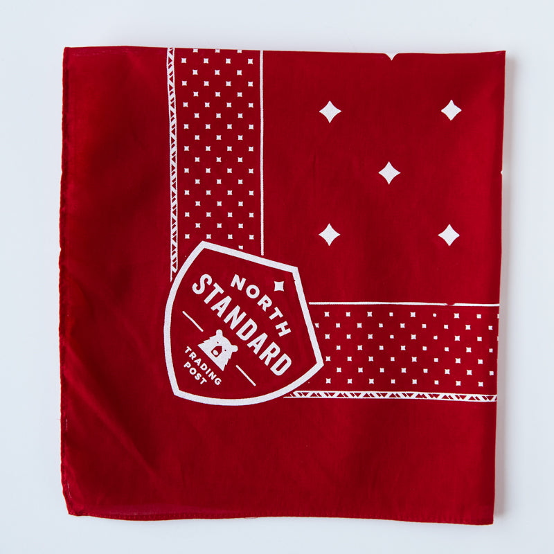 "NSTP Bandana 22"" - Red with White"