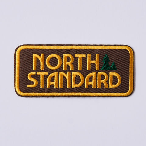 NSTP Patch - Woodlands - Brown/Gold